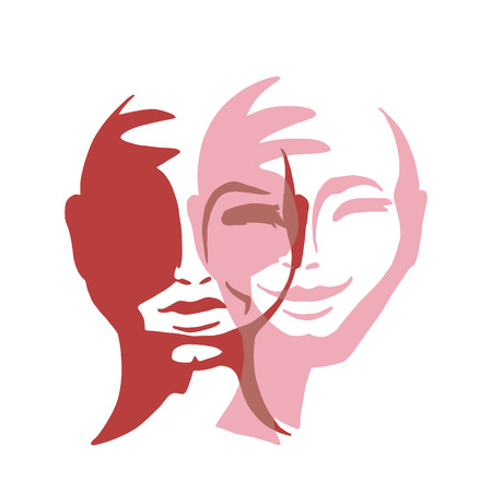 Concept of a split personality vector design