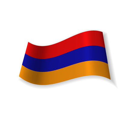 The Flag Of Armenia.
