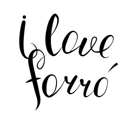 I love forro.