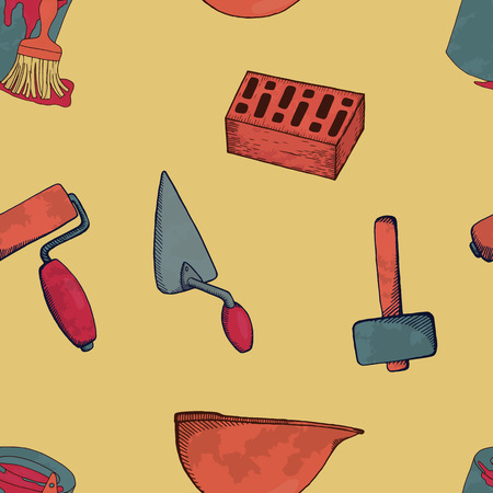 Construction tools. Ilustrace