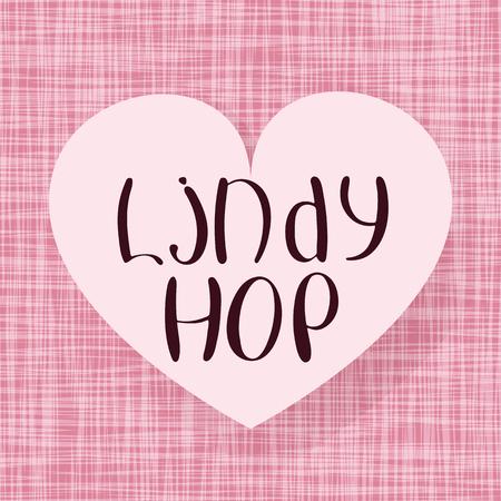 Lindy hop. Standard-Bild