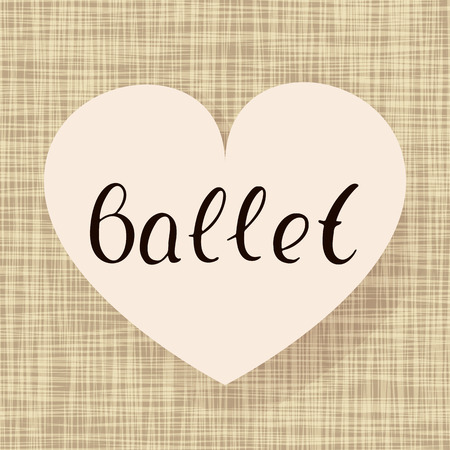 Ballet dance.