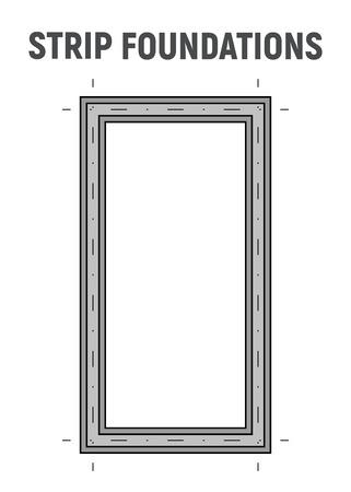 Blueprint image strip foundation.