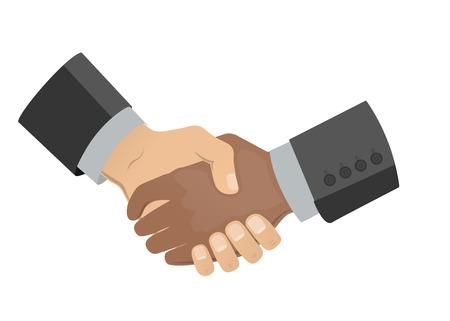 Handshake men.