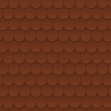 Impression de fond transparente du toit. L'architecture de l'extérieur. Illustration vectorielle.