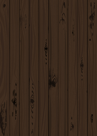 Floor board texture. Wooden surface. Vector illustration. Retro textured design Ilustrace
