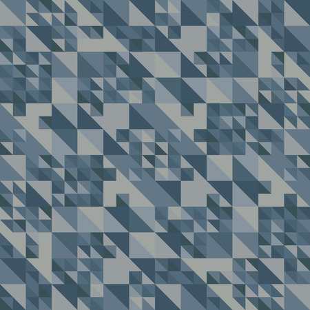 Blue background. Texture of triangles. Vector illustration. Abstract night sky. Geometric pattern