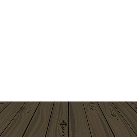 Wooden clapboard. Vector illustration. Carpentry board texture