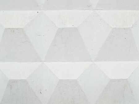 White concrete fence. Wall background. Construction wallpaper.