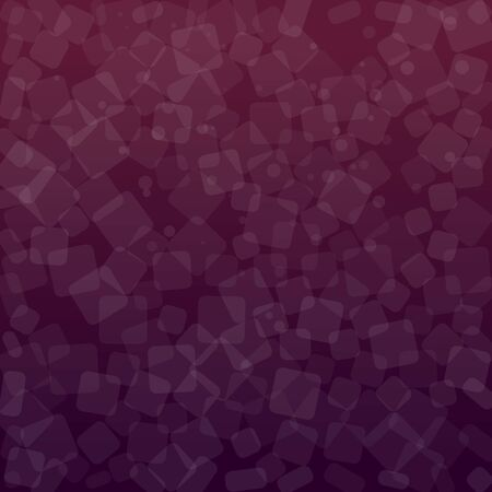 Violet and purple abstract background. Geometric square design. Vector illustration.