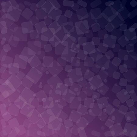 Purple abstract background. Geometric square design. Vector illustration. Vectores