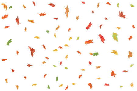 Maple Leafs background. Autumn wallpaper Vector illustration. Ilustração