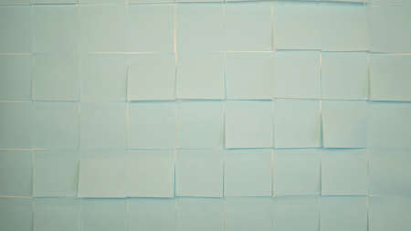 Blue stickers wallpaper. Empty paper sticky, notepapers