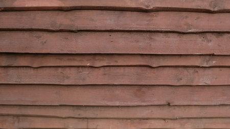 Wooden striped brown planks background. Wood wall texture, grunge board. 版權商用圖片