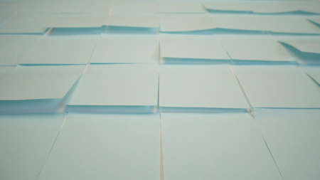 Adhesive stickers background. Empty paper sticky, notepapers