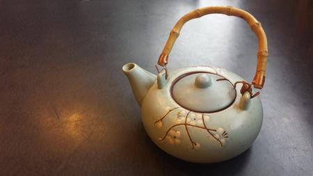 Flower teapot