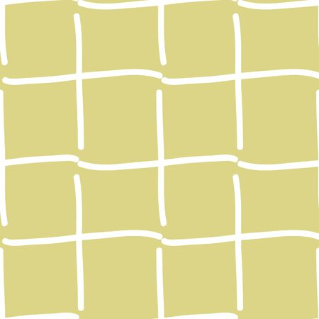 white weaving lines on yellow background seamless vector repeat pattern surface design
