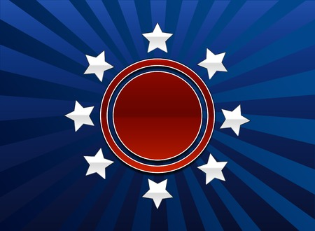 A red white and blue background useful for the 4th of July, elections, anything.