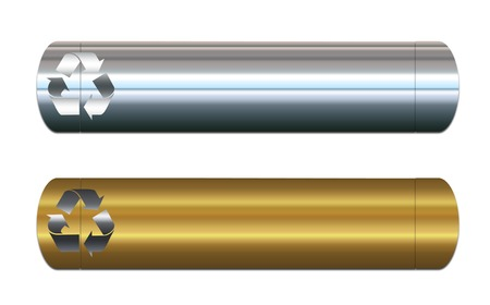 Two page banners or headers for metals recycling