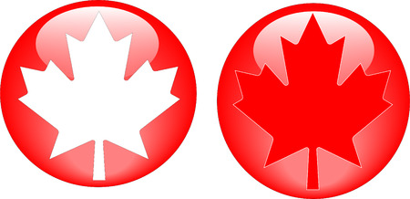 Maple Leaf icons Stock Vector - 6377072
