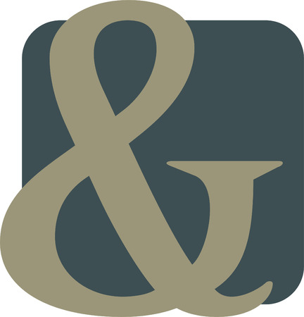 Ampersand Illustration Illustration