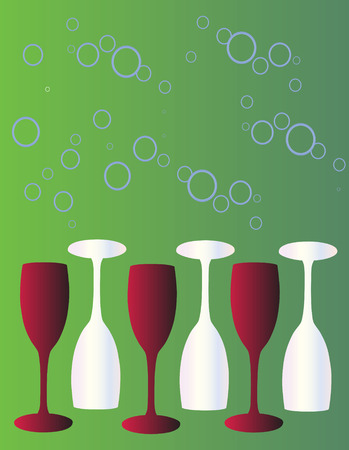 sipping: Stylish wine glass background
