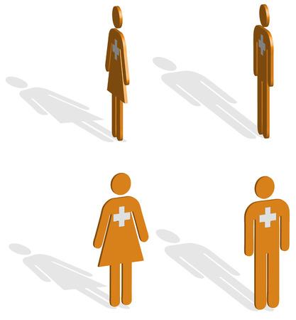 ems: Tripulaci�n de Orange EMS ilustraci�n