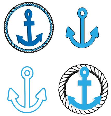 barca a vela: Ancore