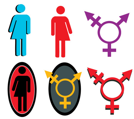 Transgender icons and symbols