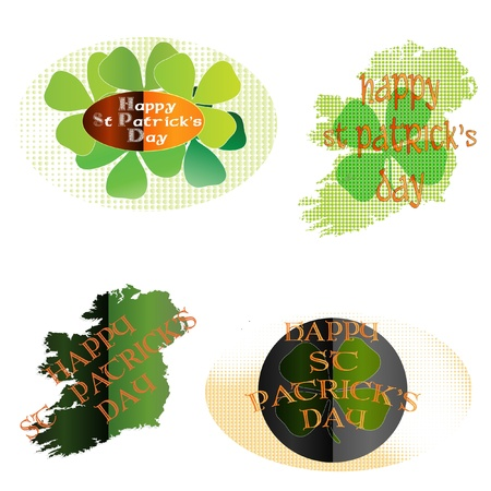 St Patrick's Day icons Stock Vector - 12244786