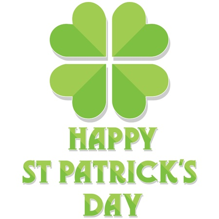 Happy St Patrick's Day Stock Vector - 12483700