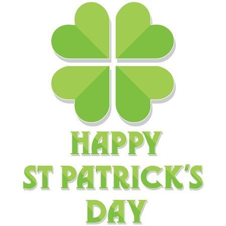 Happy St Patrick's Day Stock Vector - 12483700