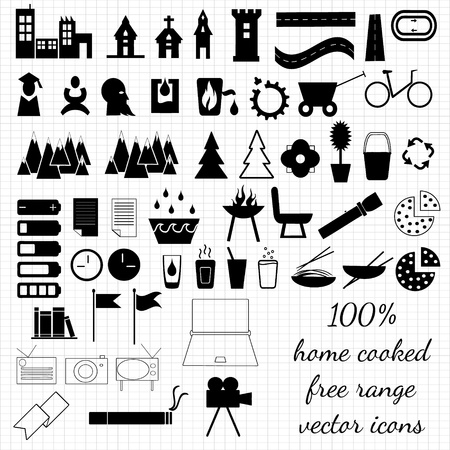 Objects icon collection