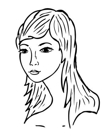 womans: womans face