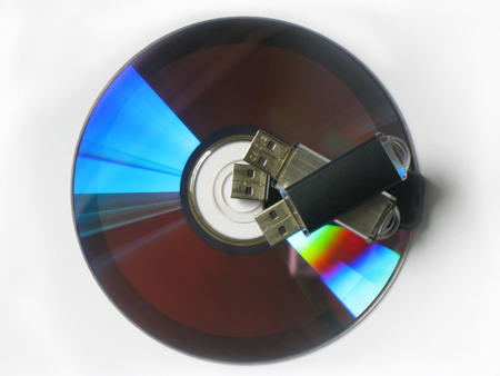 usb memory: CD and usb memory cards