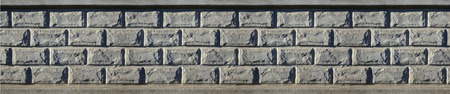 smeared: Stone fence texture - building feature. Texture of concrete fence with relief and texture like a stone wall