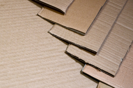 Background of paper textures piled ready to recycle. A pack of old office cardboard for recycling of waste paper. Pile of wastepaper Stock Photo