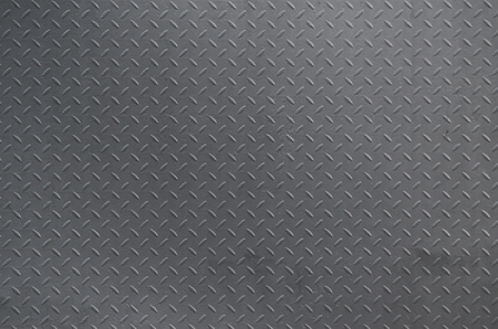 Metal texture background aluminum brushed silver. Metal floor plate with diamond pattern. Grunge background image