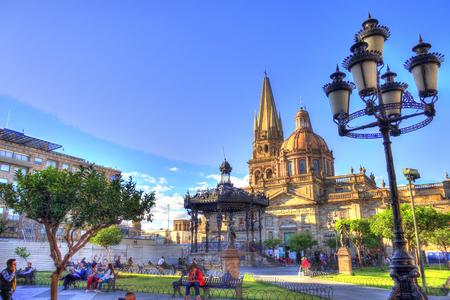 Guadalajara cityscape, Mexico