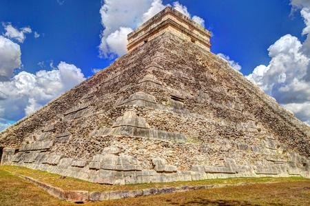 Chichen Itza Mayan site, Mexico 스톡 콘텐츠