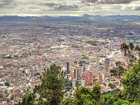 Bogota, Capital of Colombia Stock Photo