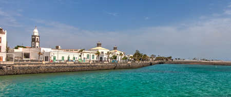 Arrceife, Spain : Historical center in sunny weather