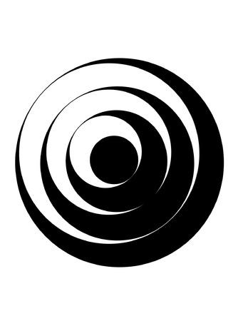 hypnotism: circular redonda Vectores