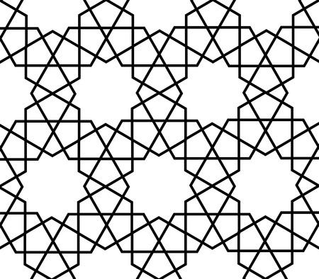 islamic persian art arabesque pattern