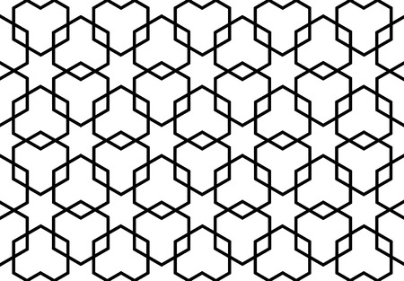 trapezoid: islamic persian art pattern
