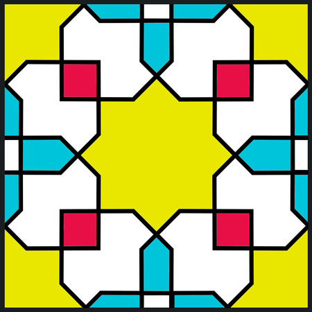 persian tile pattern  Vector