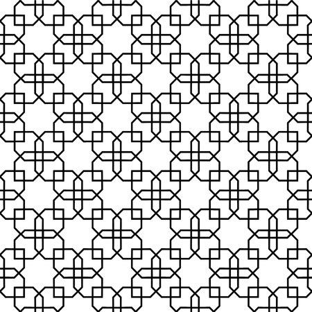 reticular: persian tile pattern