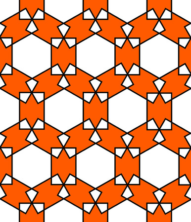reticular: islamic persian pattern