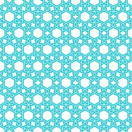nice islamic persian pattern background  イラスト・ベクター素材