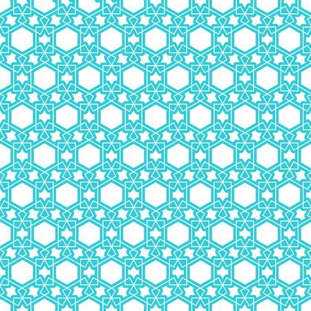 reticular: nice islamic persian pattern background Illustration